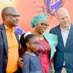 Bala Yesufu, Mrs. BolanleAmbode  and Roy Naaman