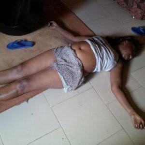 Ronke Shonde's corpse