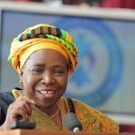 Chairperson, African Union Commission, Dr. Nkosazana Dlamini-Zuma.
