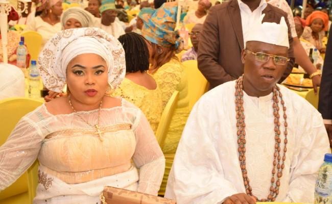 Gani Adams with wife