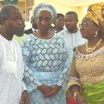 From Left: Vice President Yemi Osinbajo; his wife, Mrs. Dolapo Osinbajo and Head of Civil Service of the Federation, Mrs. Winifred Oyo –Ita