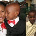 Sumbo with her children (Nino and Zino)