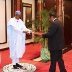 President Muhammadu Buhari receives SRI Lankan Ambassador to Nigeria, Mr. Thambirajah Reveenthiran