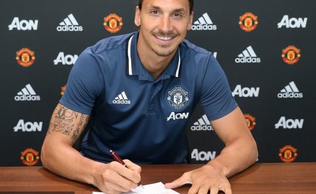 Zlatan signing