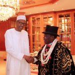 President Buhar and HRM King (Dr) W.S. Joshua Igbugburu