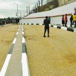 Ongoing construction of Iyana Oworo Bus Stop, Oworosonki, Lagos