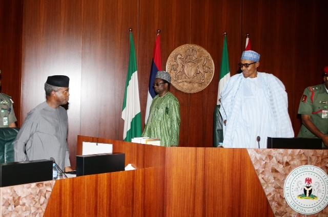 Image result for President Muhammadu Buhari and Vice-President Professor Yemi Osinbajo