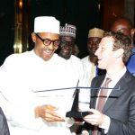 Buhari and Mark Zuckerberg