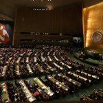 US President Barack Obama address the UNGA71 for the last time as President in New York