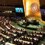 US President Barack Obama address the UNGA71 for the last time