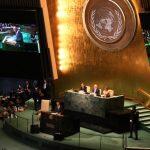 US President Barack Obama address the UNGA71 for the last time as President in New York.