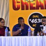 Uche Nwuka, Modestus Duro and Dbanj