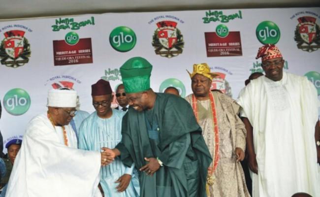 Founder of FCMB Group, Otunba Olasubomi Balogun; Governors Nasir El-Rufai of Kaduna state and Ibikunle Amosun of Ogun state; the Awujale of Ijebuland, Oba Sikiru Adetona and Governor Seriake Dickson of Bayelsa state