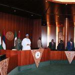 Vice President Prof Yemi Osinbajo, President Muhammadu Buhari
