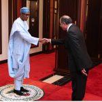 President Muammadu Buhari Receives the New Tunisia Ambassador to Nigeria, H.E Jalel Trabelsi