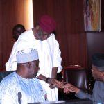 R-L; Vice President, Yemi Osinbajo, Chief of Staff, Mallam Abba Kyari and SGF, Engr Babachir Lawal