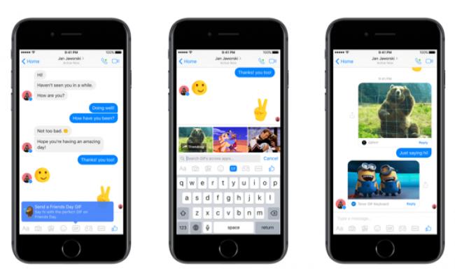 Friends Day Messenger Screenshot Combined