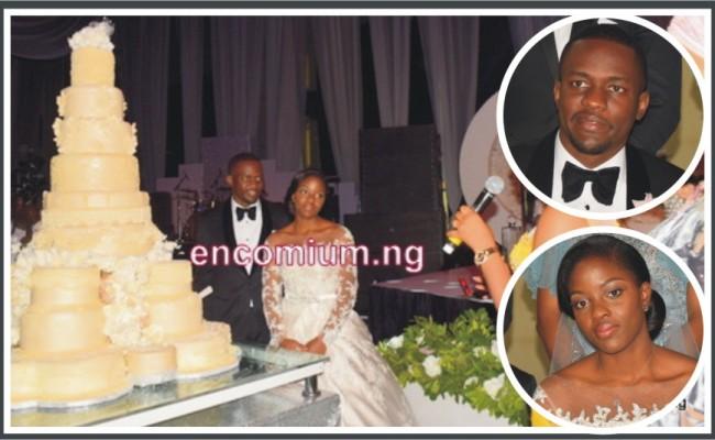 Moji olaiya wedding cakes