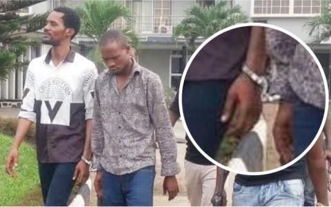 seun egbegbe in court