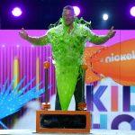 Host John Cena gets slimed onstage