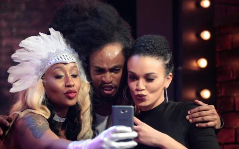 Pearl, Denrele and Victoria Kimani 1