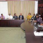 Dr Ade Ipaye, Acting President Yemi Osinbajo, Minister of Finance, Mrs. Kemi Adeosun, NSIA Chairman, Mr Jide Zeithin, MD/CEO, Uche Orji, Board Member, Ms Halima Buba, Board Member, Urum Kalu-Eke, CRO/ED NSIA and Board Member, Stella Ojekwe-Onyejeli, Board Member Bello Maccido, Board Member Lois L. Malhunga-Dibie