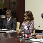 R-L; Acting President Yemi Osinbajo, Minister of Finance, Mrs. Kemi Adeosun, NSIA Chairman, Mr Jide Zeithin and NSIA MD/CEO, Uche Orji