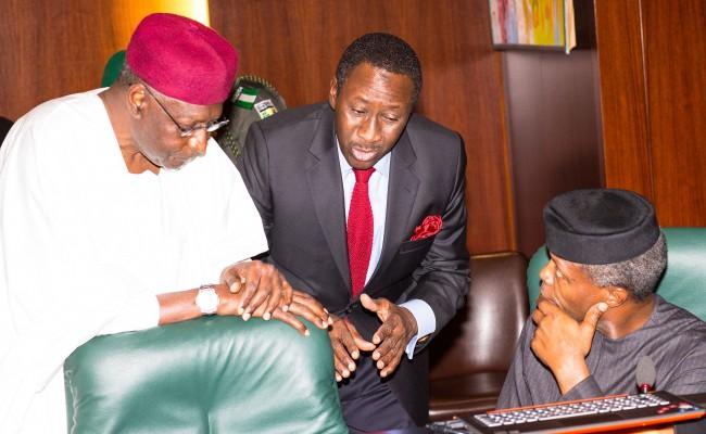 AG PRESIDENT OSINBAJO PRESIDES OVER FEC MEETING