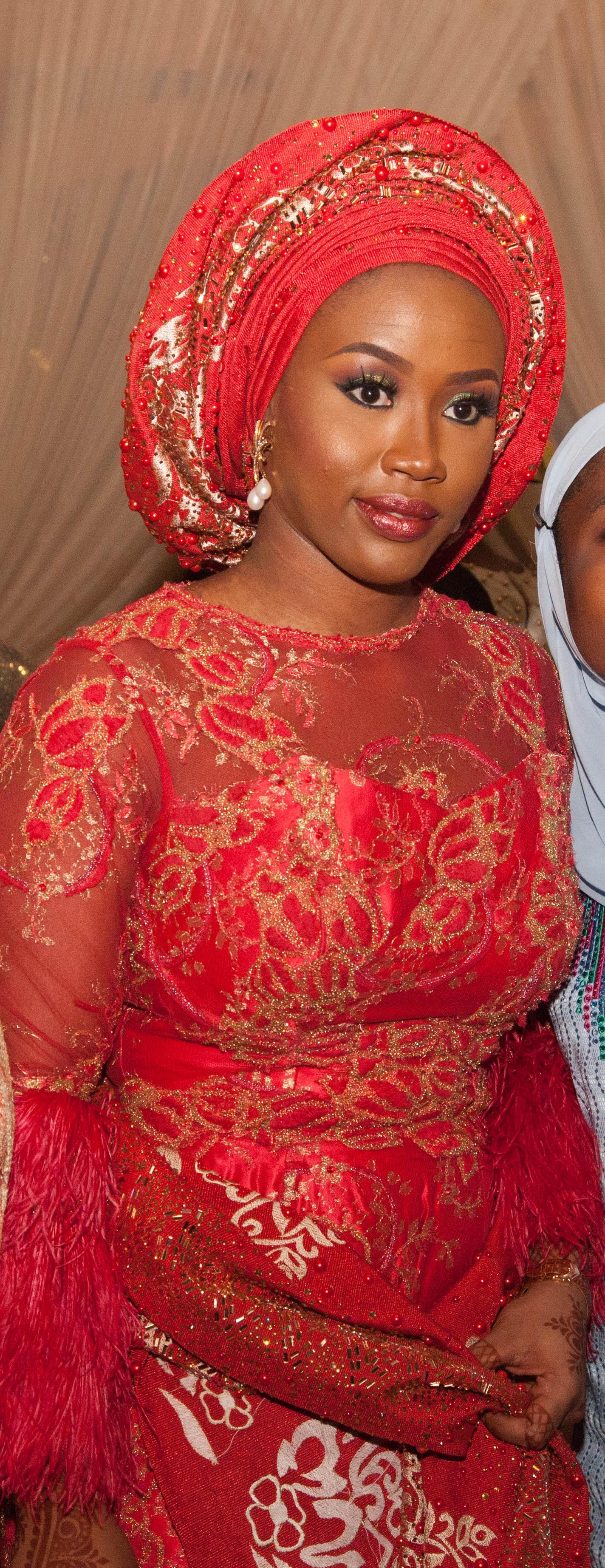 Halima Babangida: Bride sparkles in jaw dropping attires ...  Halima Babangid...