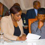 Acting President Yemi Osinbajo SAN and Minister of Finance, Kemi Adesoun