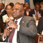 Lagos State Governor, Mr. Akinwunmi Ambode, addressing stakeholders