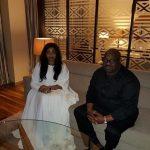 Olori Wuraola and Bashorun Dele Momodu