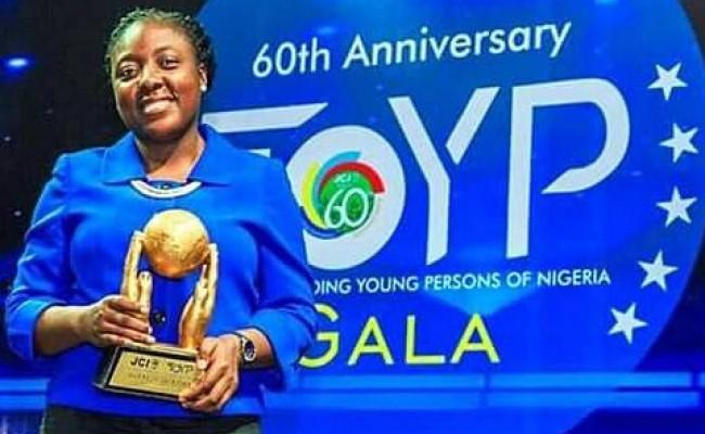 Adepeju Jaiyeoba, JCI TOYP World Recipient