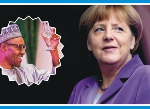 Angela Merkel - BUhari
