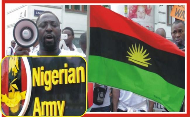 Indigenous People of Biafra - Nigerians Army