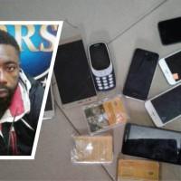 Stolen phone dealer