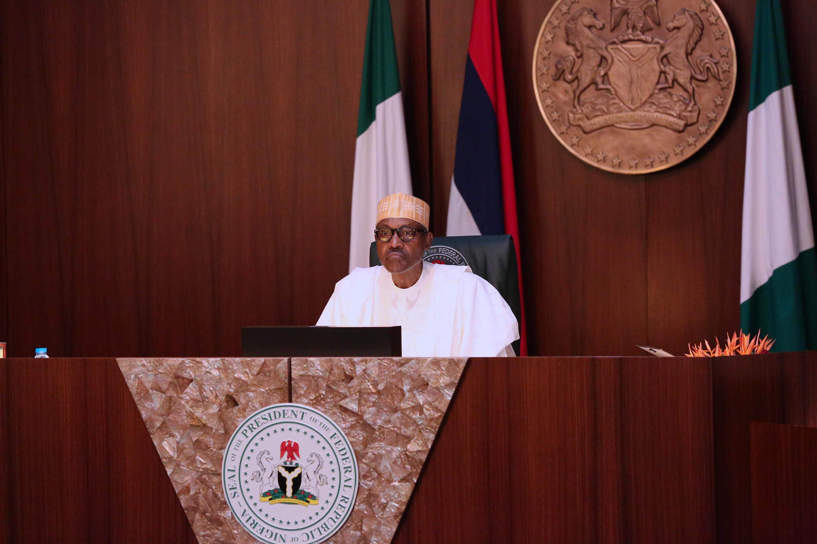 Buhari presides over Federal Executive Council FEC