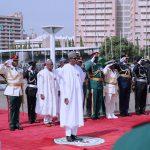 President Muhammadu Buhari, the Service Chiefs