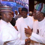 Zamfara State Governor, Alhaji Abdulaziz Yari, Lagos State Governor, Mr Akinwumi Ambode and Benue State Governor Samuel Ortom