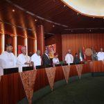 R-L; President Muhammadu Buhari, Vice President Yemi Osinbajo, SGF, Mr. Boss Mustapha, Head of Civil Service of the federation, Mrs Winifred Oyo-Ita, NSA Major Gen Babagana Mongonu and others State Governors