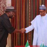 President Muhamadu Buhari receives the Bayelsa State Governor, Hon. Seriake Dickson