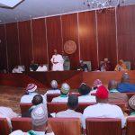 President Muhammadu Buhari ( addressing the members of Buhari Supports Organisation (BSO)