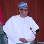 President Muhammadu Buhari addresses A delegation of  Conference of Nigeria Female Parliamentarians (CONPEPA)
