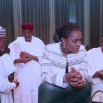 Comptroller General of The Nigerian Customs Service Col Hammid Ali, Chief of Staff Mallam Abba Kyari, Minister of Finance, Mrs. Kemi Adeosun and Minister of Health Prof Issac Adewale