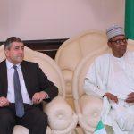 President Muhammadu Buhari and the Secretary-General UN World Tourism Organisation, Mr. Zurab Pololikashvili