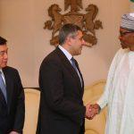 R-L; President Muhammadu Buhari received the Secretary-General UN World Tourism Organisation, Mr. Zurab Pololikashvili accompanied by the Executive Director, World Tourism Organisation, Mr. Zhu Shanzhong