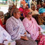 from left Mrs. Zuwaira Gambo, Zonal Coordinator Future Assured, North East Zone, Mrs. Chamah, Mrs. Bindow, Dr. Fatima Abubakar and Dr. Abdullahi Belel, Chairman Primary Health Care Agency, Adamawa state