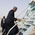 President Muhammadu Buhari departs Mauritania to Abuja