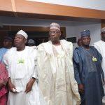 R-L; Niger State Governor, Sani Bello, Kogi State Alhaju Yahaya Bello, Yobe State Governor Giedam, Kano State Governor Kano Abdullahi Ganduje