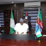 President Muhammadu Buhari and Minister of Transportation, Mr Rotimi Amaechi